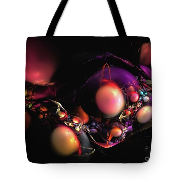 Tote Bag featuring the digital art Abundance by Sipo Liimatainen