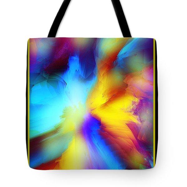 Celestial Rhythm Tote Bag