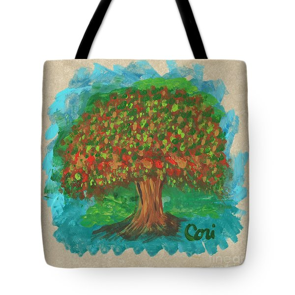 Abundant Tree Tote Bag