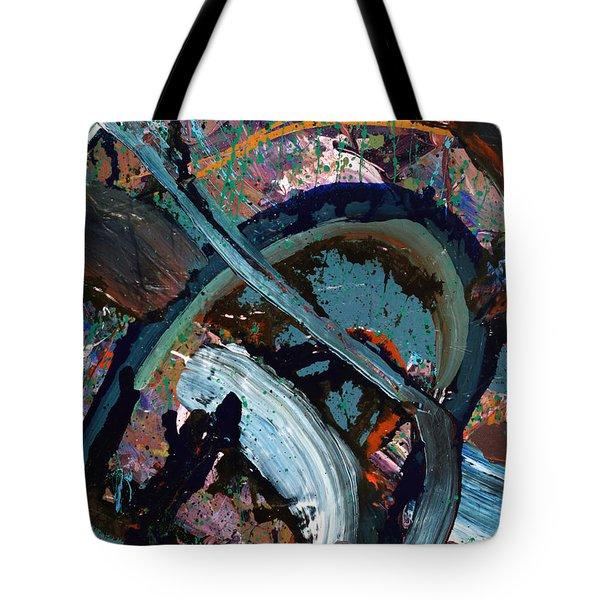 Abyss  Tote Bag by Erika Pochybova