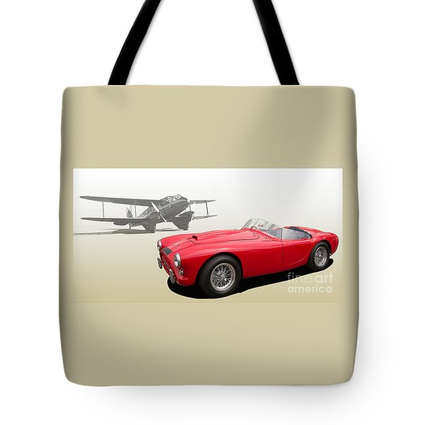 Ac Ace Tote Bag by Roger Lighterness