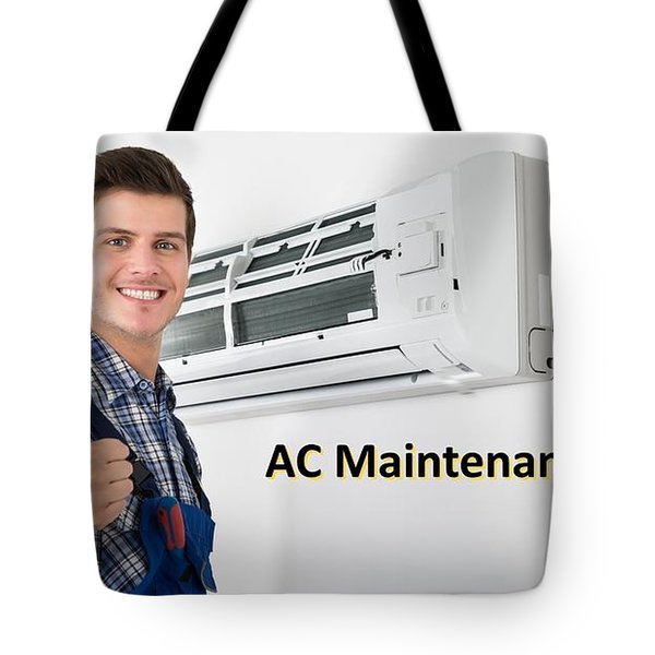 Ac Maintenance Gudie Tote Bag