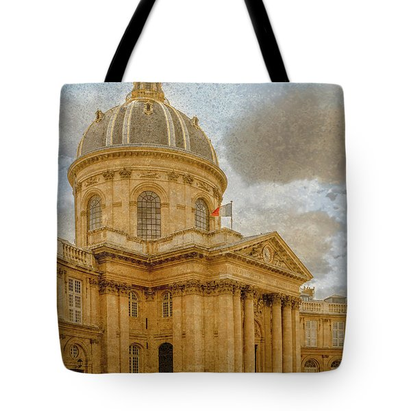 Paris, France - Academie Francaise Tote Bag