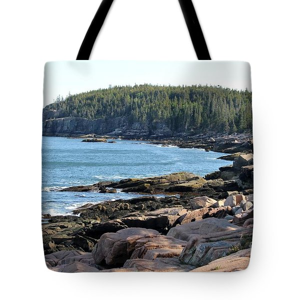 Acadia Cove Tote Bag
