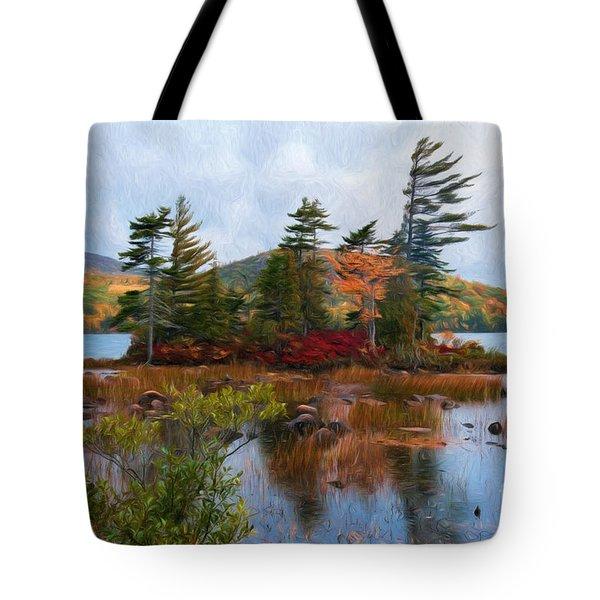 Acadia National Park Tote Bag by Sharon Seaward