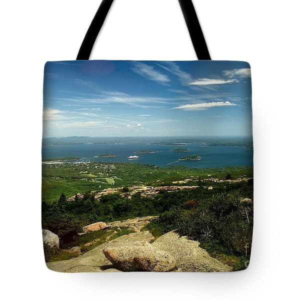 Tote Bag featuring the photograph Acadia by Raymond Earley