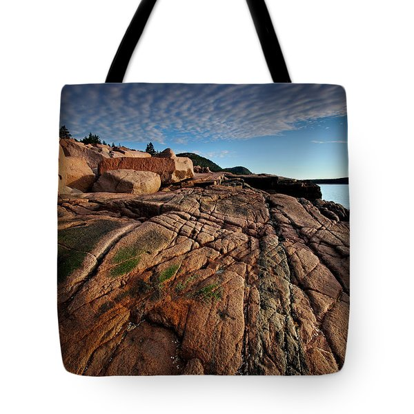 Acadia Rocks Tote Bag