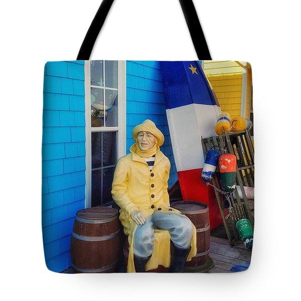 Acadian Fisherman, Prince Edward Island, Canada Tote Bag