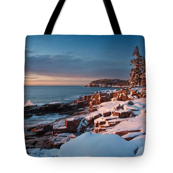 Acadian Winter Tote Bag