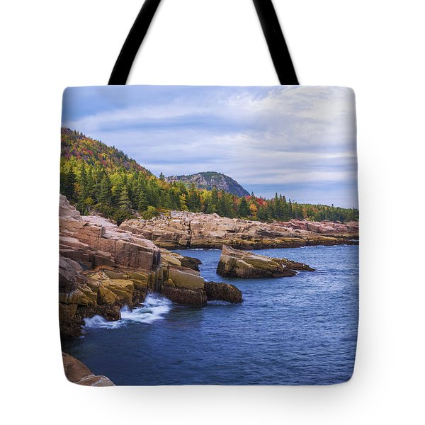 Acadia's Coast Tote Bag