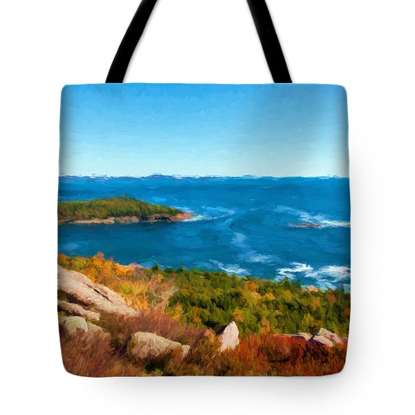 Acadia's Sand Point Tote Bag