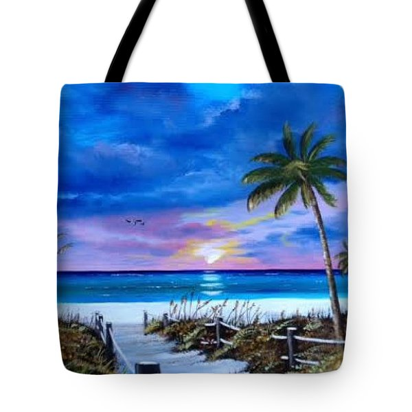 Access To The Beach Tote Bag