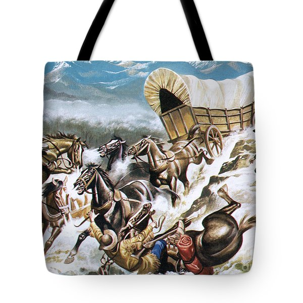 Accident On The Way Out West Tote Bag