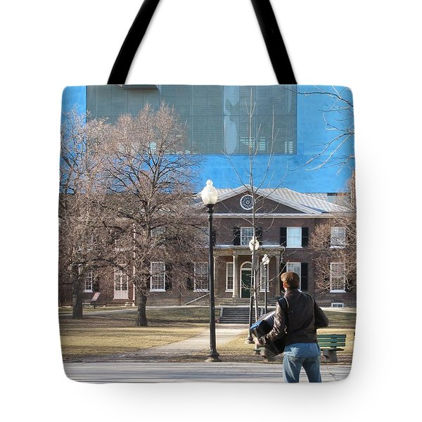 Accordion Music For Spring Tote Bag