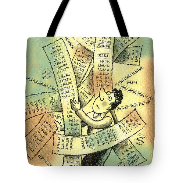 Accounting And Bookkeeping Tote Bag