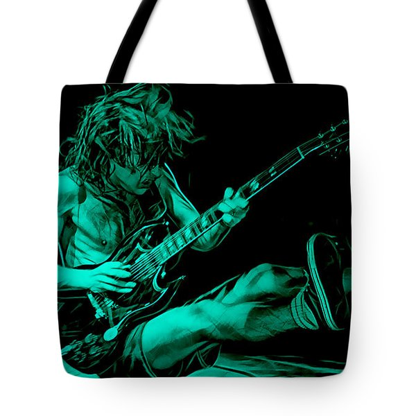 Acdc Collection Tote Bag by Marvin Blaine