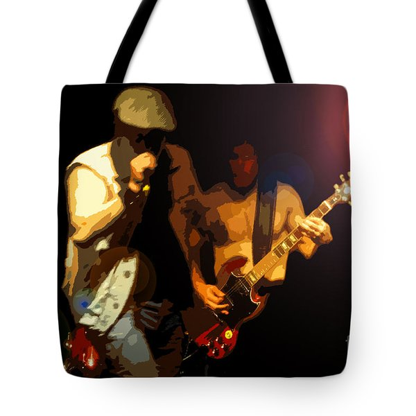 Acdc Tote Bag by David Lee Thompson
