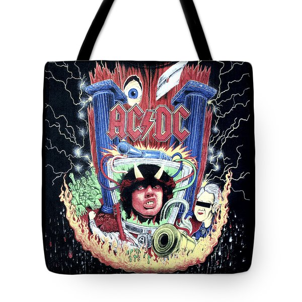 Acdc Tote Bag by Gina Dsgn