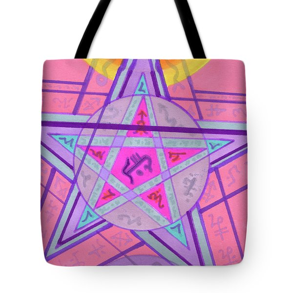 Ace Of Solomon Tote Bag