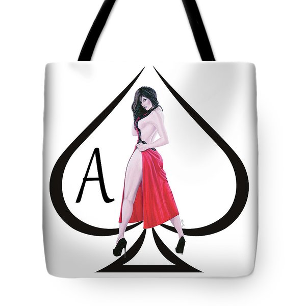 Ace Of Spades3 Tote Bag