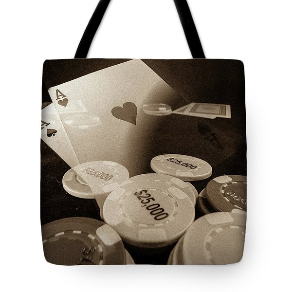 Aces Up Tote Bag