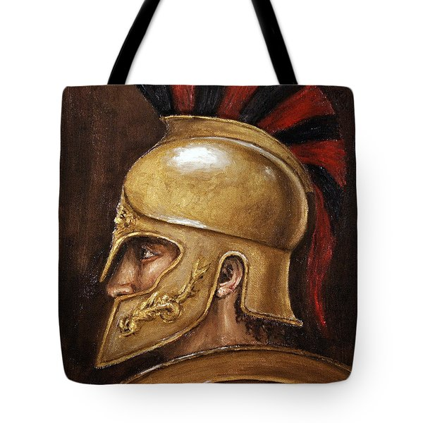 Achilles Tote Bag by Arturas Slapsys