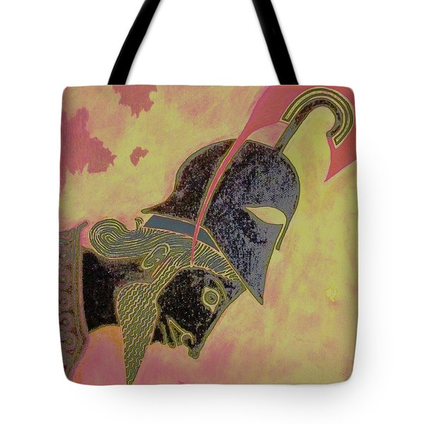 Achilles Tote Bag by Christopher Kirby