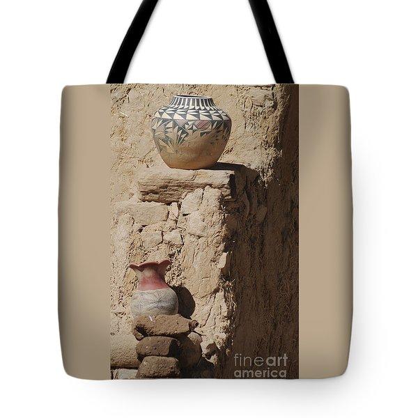 Acoma Pueblo Pottery Tote Bag