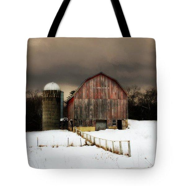 Tote Bag featuring the photograph Acorn Acres by Julie Hamilton