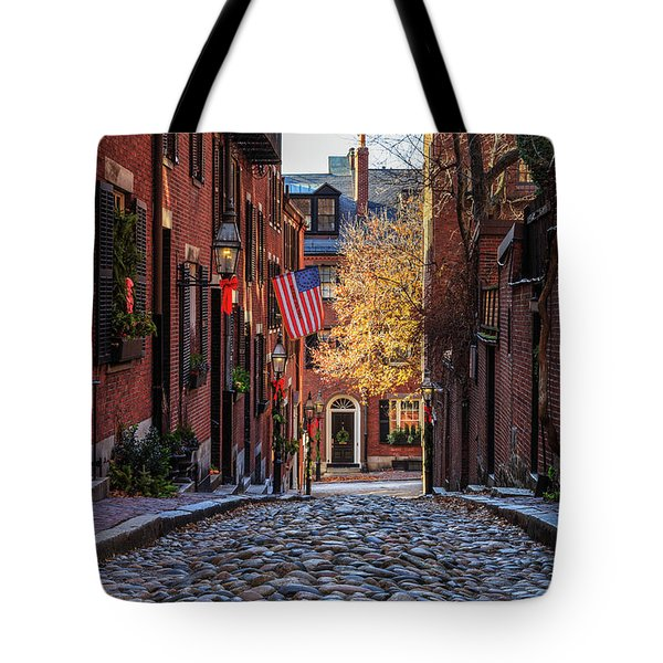 Acorn St. Tote Bag