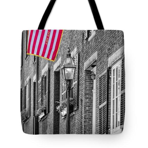 Acorn Street Details Sc Tote Bag