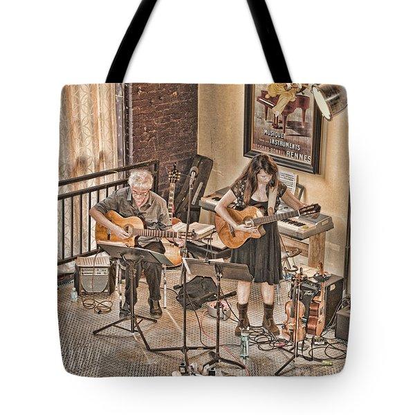 Acoustic Jazz Tote Bag