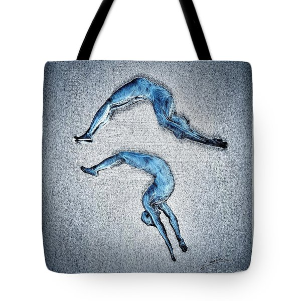 Acrobatic Gesture Tote Bag