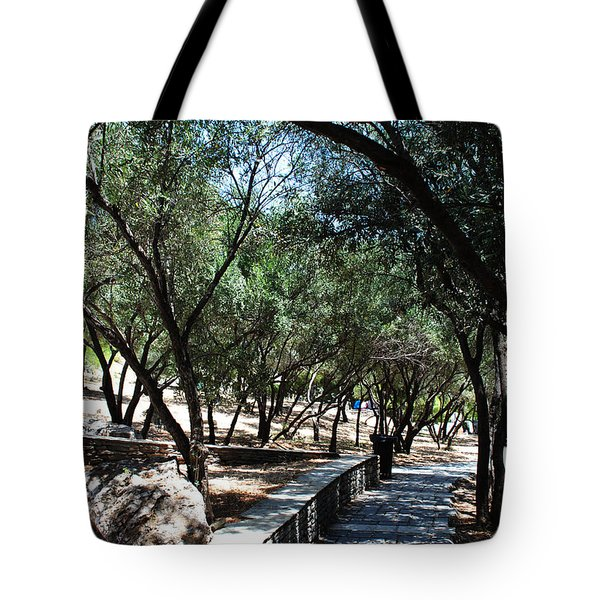 Acropolis Trail Tote Bag
