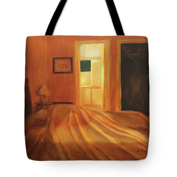 Across The Bed Tote Bag