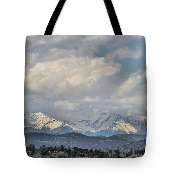 Across The Border Tote Bag