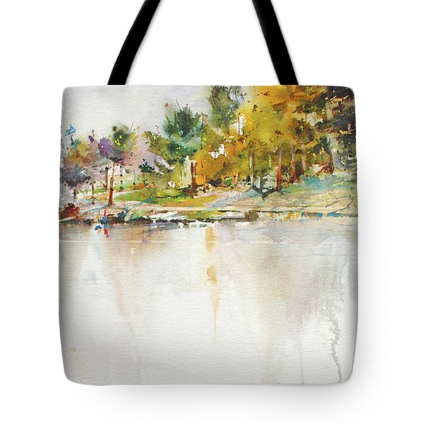 Across The Pond Tote Bag