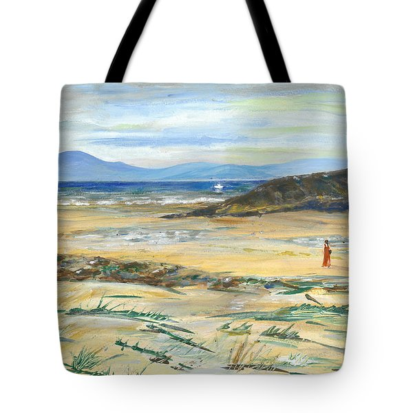 The Swimmer - Painting Tote Bag