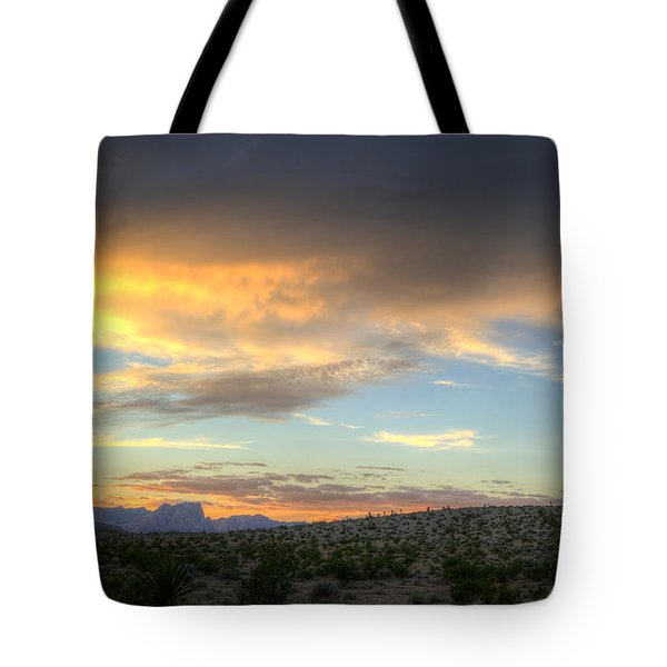 Across The Street Tote Bag