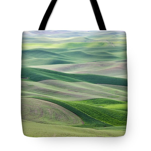 Tote Bag featuring the photograph Across The Valley by Wanda Krack