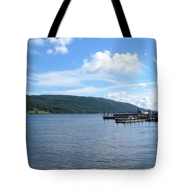 Across The Water Tote Bag