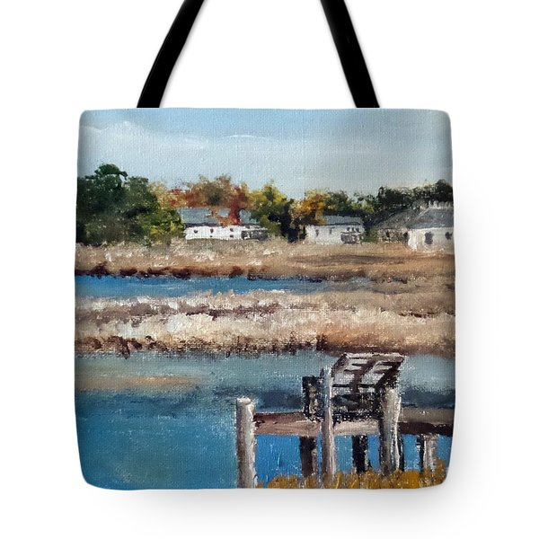 Across The White Oak Tote Bag