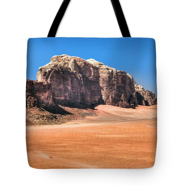 Across Wadi Rum Tote Bag