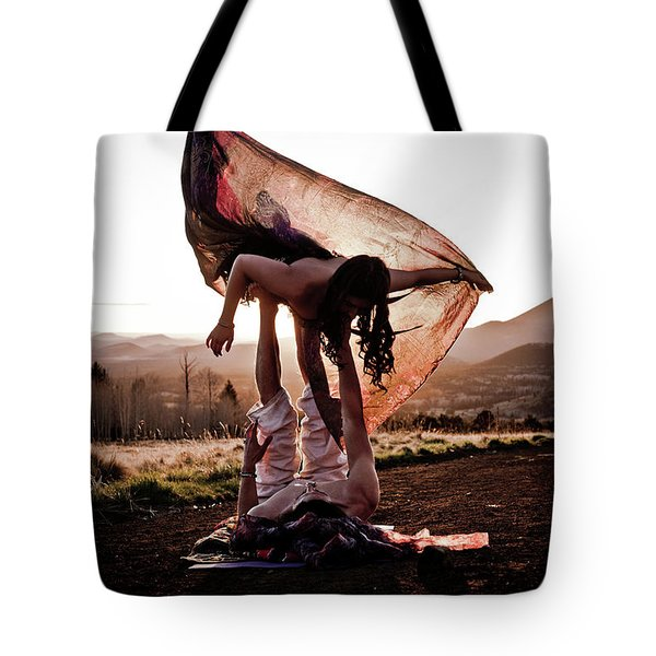 Acroyoga Curves Tote Bag