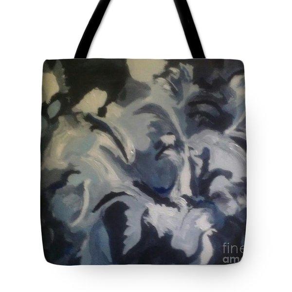 Acrylic Blues Tote Bag