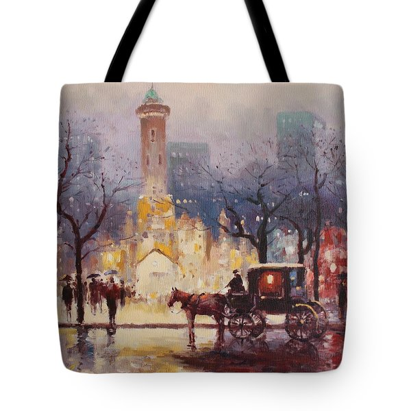 Acrylic Msc 054 Tote Bag by Mario Sergio Calzi