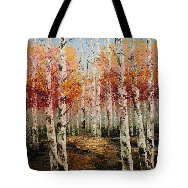 Acrylic Msc 096 Tote Bag