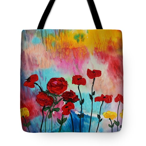 Acrylic Msc 101 Tote Bag
