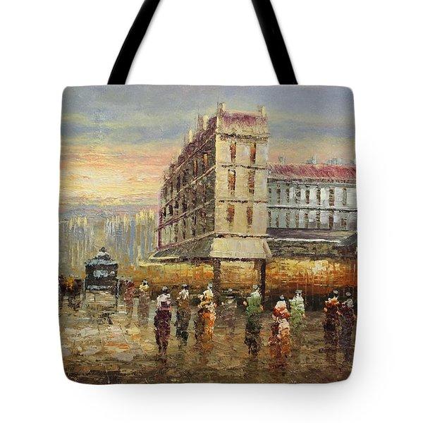 Acrylic Msc 132 Tote Bag