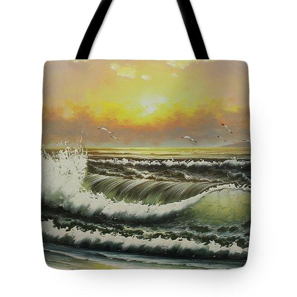 Acrylic Msc 148 Tote Bag by Mario Sergio Calzi